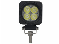 Wholesale Cheap Led Lighting Kits - Wholesale-2PCS LOT Epistar LEDs 4*3W 1200LM 9-30V 12W tractor offroad LED work light,working lamp,Fog light kit,cheap shipping