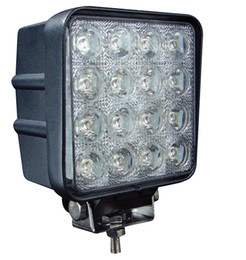 Wholesale Cheap Offroad Led - Wholesale-Nice 2PCS LOT Epistar LEDs 16*3W 2100LM 9-30V 48W tractor offroad LED work light,working lamp,Fog light kit,cheap shipping