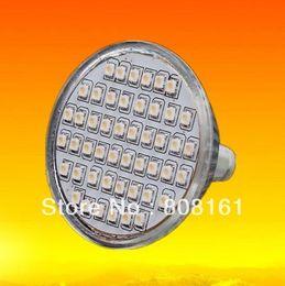 Wholesale Led Mr - Wholesale-10pcs lot energy saving MR-16 60PCS 3528 SMD high quality low heating led light ceiling light for home