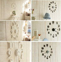 Wholesale China Post Air Novelty Clocks Modern Interior Design Deco Decal DIY Wall Clock