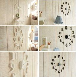 Wholesale Modern Interior Clock - China Post Air ! Novelty Clocks Modern Interior Design Deco Decal DIY Wall Clock