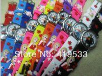 Wholesale Kids Rubber Belt - Wholesale-Free Shipping 20 pcs lot Frozen Children Girls Kids Boys Quartz Cartoon Watches Fashion watches