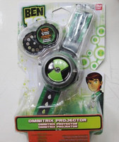 Wholesale Network Protector - Wholesale-BANDAL Bandai Ben10 protector of earth projection watch children cartoon watches kids cartoon ben 10 cartoon network