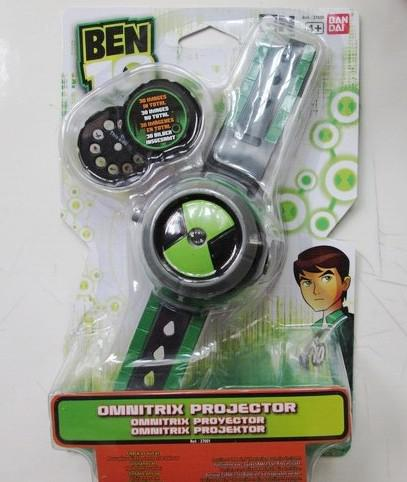 Wholesale-BANDAL Bandai Ben10 protector of earth projection watch children cartoon watches kids cartoon ben 10 cartoon network