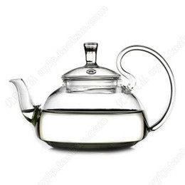 Wholesale Candle Teapot - Wholesale-Glass Teapot 600ml,tea sets,teapot+2 Double wall glass coffe tea Cup+1 Warmer+1small Candle+good gift