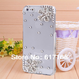 Wholesale Fashion Iphone 5c Cases - Wholesale-Cherry diamond case cover for iphone 5c new 2015 covers for iphone5c fashion phone cases shell free ship
