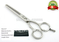 Wholesale Hair Scissors Hitachi - Wholesale-Free shipping Professional salon tools made of HITACHI material 5.5 inch Hair scissors