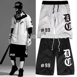 Wholesale Black Chef - Wholesale-Chef99 hip hop basketball shorts men DXPE baseball short for men Chef NO.99 tee shirt XXS-XXXXL