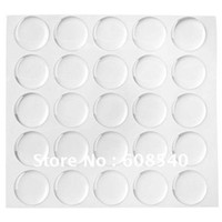 Wholesale Epoxy Dome Sticker Inch - Wholesale-100pcs 1 Inch 3D Dome Circle Clear Epoxy Stickers For Bottle Cap Pendants DIY jewelry AE00999