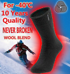 Wholesale Thick Warm Socks For Winter - Wholesale-big size thick men's wool socks winter men thermal socks men boot socks thermo black mens crew thremo warm socks for men