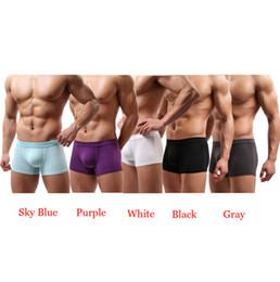 Wholesale Boxer Brief Bulge Pouch - Wholesale-Best Deal New Sexy Underwear Men Men's Briefs Shorts Bulge Pouch soft Underpants 1pcs