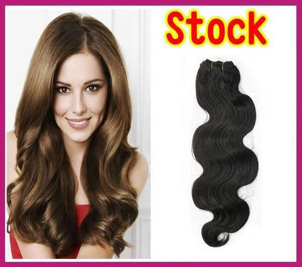 2018 Cheap Price Good Wavy Brazilian Remy Hair Weave Hair Weft