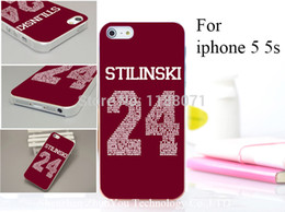 Wholesale Teen Wolf Iphone Case - Wholesale-Teen Wolf Stilinski Style Hard Case Cover for iphone 5 5s 5g 5th 1PCS lot drop shipping