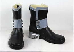 Wholesale Kirito Boots - Wholesale-Sword Art Online Kazuto Kirigaya Kirito cosplay shoes boots shoe