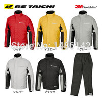 Wholesale Trek Motorcycles - Wholesale-Free Shipping RS TAICHI 038 Motorcycle riding clothes raincoat the trekking raincoat climbing raincoat 4 colors S M XL XL XXL
