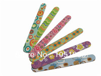 Wholesale Disposable File - Wholesale-Free Shipping wood mini nail file disposable nail file wood emery board 100 pcs lot