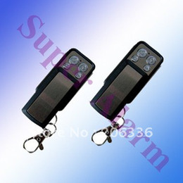 Wholesale Gsm Alarm Work - Wholesale-Free shipping 50pcs lot,Metal remote controller 433Mhz work with wireless GSM PSTN alarm