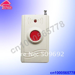 Wholesale Panic Button 433mhz - Wholesale-wireless panic and emergency button for ugent help 433MHZ   315MZH free shipping