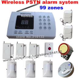 Wholesale Cheap Home Alarm Security Systems - Wholesale-99 zone auto home wireless alarm system for home security, easy & cheap alarmas, free shipping