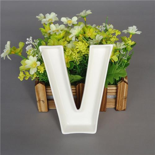 Surprising 2019 Wholesale Love Ceramic Letter Candy Dishes For Candy Table Wedding Candy Bar Ideas Baby Shower Wedding Decoration Fastampfree From Home Interior And Landscaping Synyenasavecom