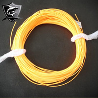 Gros-Best Selling Fighter orange synthétique flottant pour Fly Fishing Line 3 # Floatationline Cord 2015
