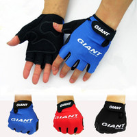 Wholesale Giant Glove Half Finger - Wholesale-2015 GIANT Cycle GEL racing cycling gloves mtb bicycle Spring off road guantes mountain bike Half Finger ciclismo luvas gloves