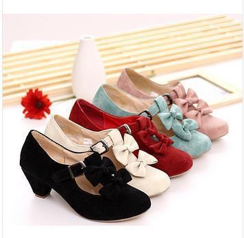 abfec95c21d2 Wholesale-Women High Heels Shoes Hot Spring Autumn Wedding Party ...