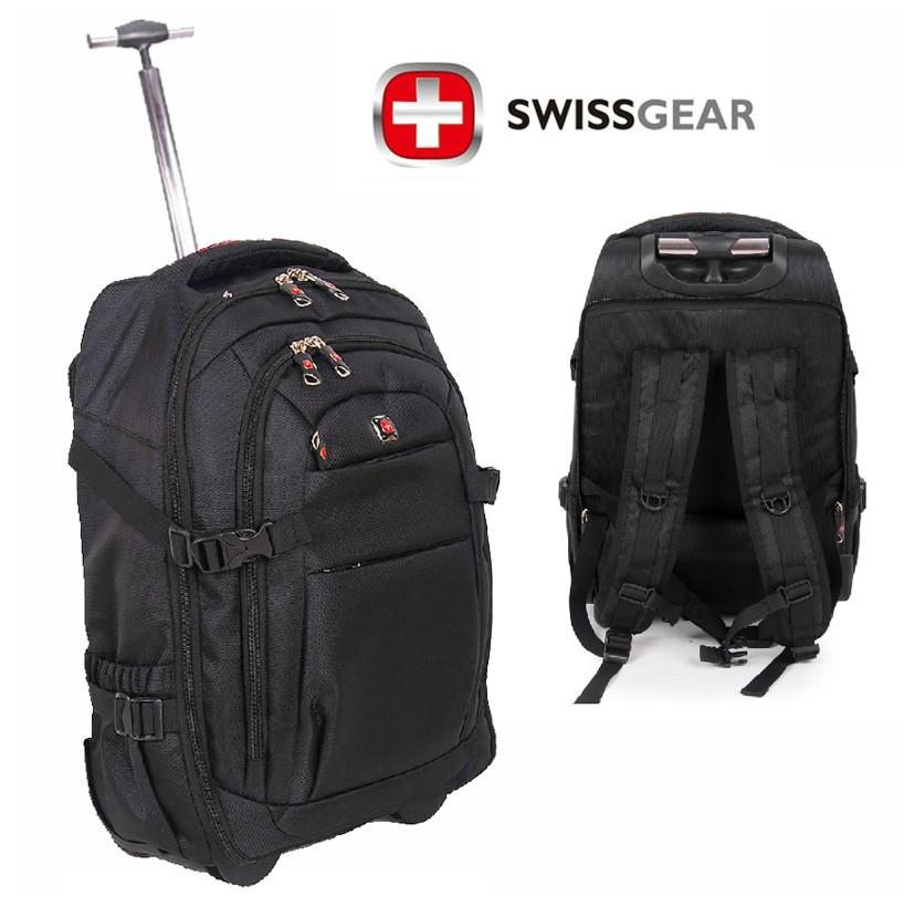 Wholesale Swiss Army Knife Trolley Luggage Bag 22 Travel Backpack Shiralee School Toddler Backpacks For College From