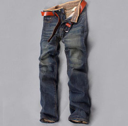 cheap lights for sales NZ - Wholesale-New 2015 Arrival Men's Spring Long Jeans Hot Sale Cheap Shipping High Quality Material Trousers For Men
