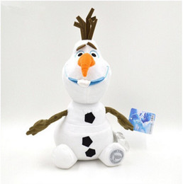 Wholesale Baby Doll Toy Cheap - Wholesale-2015 New plush Olaf 18cm 30cm 50cm olaf Plush Toys Dolls Stuffed Toys Dolls Accessories cheap toys