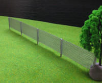 Wholesale Metal Wire Fencing - Wholesale-LG8704 1 Meter Model wire mesh fencing chain link 1:87 HO Scale new