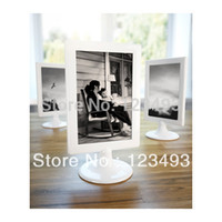Wholesale Small Children Picture - Wholesale- Fashion Hot-selling Acrylic Frame Baby Present Photo Frame Child Cheap Picture Frames 4x6 Small Kids Decor