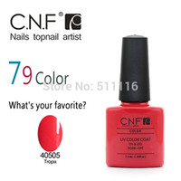 Wholesale Nail Polish Cnf - Wholesale-Free shipping +Wholesale 7pcs CNF Nail Polish UV&LED color nail gel polish(5 colors nail polish+ 1 base coat +1 top coat )