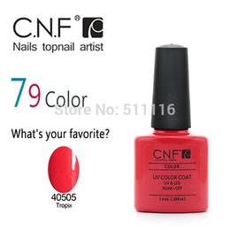 Wholesale Nail Polish Cnf - Wholesale-Free shipping +Wholesale 7pcs CNF Nail Polish UV&LED color nail gel polish(5 colors nail polish+ 1 base coat +1 top coat )