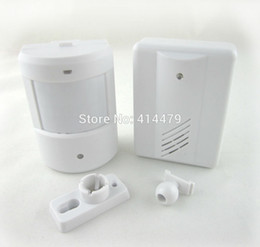 Wholesale Driveway Alarms - Wholesale-Wireless Driveway Garage Infrared Alert Secure System Motion Sensor Alarm Patrol doorbell Wireless Detector