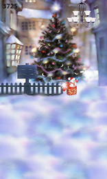 Wholesale Children S Christmas Photography - Wholesale-220CM * 150CM new2015 vinyl photography backdrops photo studio photographic background Christmas holiday snow s-45