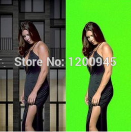 Wholesale Muslin Screen - Wholesale-1.8*2.8M solid-colored Backgrounds Photo studio Chromakey Green screen Muslin photography backdrop