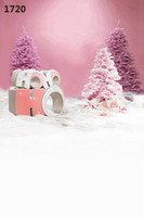 Wholesale Children S Christmas Photography - Wholesale-220CM * 150CM new2015 vinyl photography backdrops photo studio photographic background Christmas holiday snow s-9