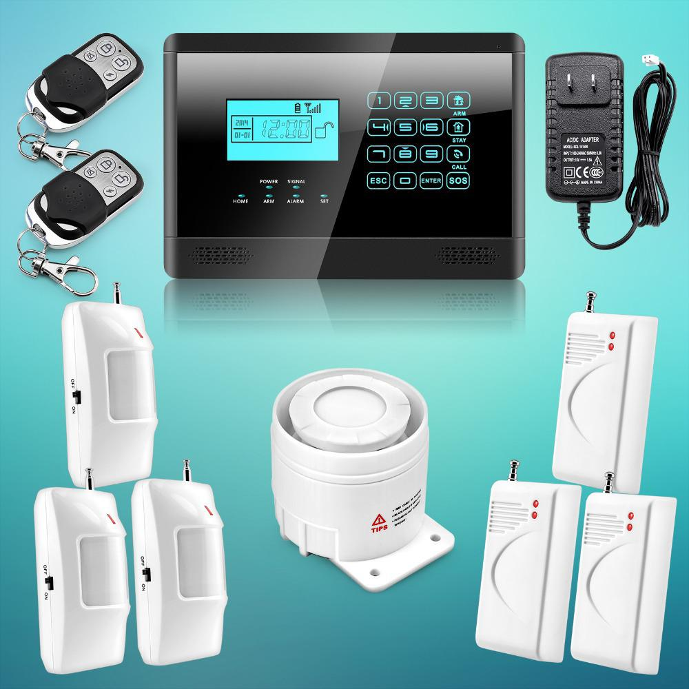 Wholesale-2015 Latest Newest Wireless& Wired GSM SMS Home House ...