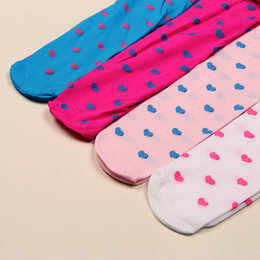 Wholesale Ship Kids Socks - Wholesale-Hot Selling Kids Girls Sexy Semi Sheer Slim Pantyhose High Socks Full Foot Free shipping & Drop shipping
