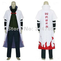 Costume di Naruto-Naruto Yondaime 4th Hokage Halloween Costume (Cloak Only), Halloween / Party Cosplay