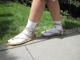Wholesale Cosplay Socks - Wholesale-BLEACH JAPANESE ANIME COSPLAY BLEACH STRAW SANDALS sandal SLIPPER SHOES shoe + SOCKS