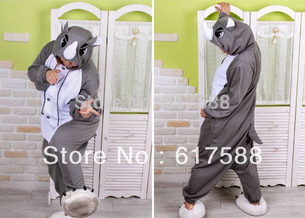 e2c422f04c Wholesale-2015 New Unisex Men Women Adult Rhinoceros Pajamas Cosplay  Costume Animal Onesie Rhino Sleepwear S M L XL Aliexpress Aliexpress.com  Online ...