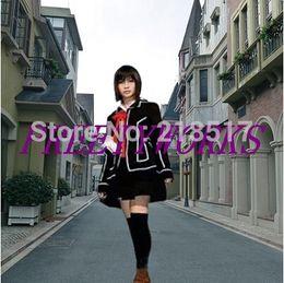 Wholesale Anime Cosplay Vampire Knight - Wholesale-Free Shipping Brand New Vampire Knight Cosplay Day Class Girl School Uniform Kurosu Yuuki Women's Party Costume F-0069