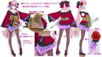 Wholesale Hatsune Luka - Wholesale-free shipping VOCALOID Luka project diva kimono Hatsune Miku Cosplay Costume customize