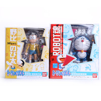 Gros-Anime Cartoon Doraemon # 103 Nobi Nobita Visage Oeil changeable Le robot Spirits PVC Figure Toy 10CM DRFG001
