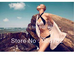 Wholesale Sexy Elegant Bikinis - Wholesale-New Products Pink elegant and sexy bikini swimwear DST-273