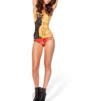 горячие женщины сексуальные животные оптовых-Wholesale-2015 new hot sexy fashion black milk bikini swimwear bathing suits Swimsuit women animal Le Chat Noir 2.0----K241