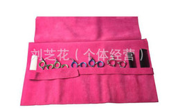 2018 kits de embrague al por mayor T0NI mayor-GUY tijeras bolsa de volúmenes de cuero de vaca, tijeras de peluquería kit de bolsa plegable bolsa bolsa de embrague kits de embrague al por mayor baratos
