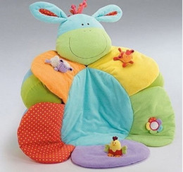 Wholesale Sit Cosy - Wholesale-Free Shipping Blossom Farm Sit Me Up Cosy-Baby Seat,Baby Play Mat Small Baby game pad In Stock Crib sofa fleeces warm bed toy